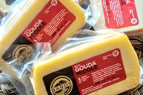Gouda Cheese, Middle 250g