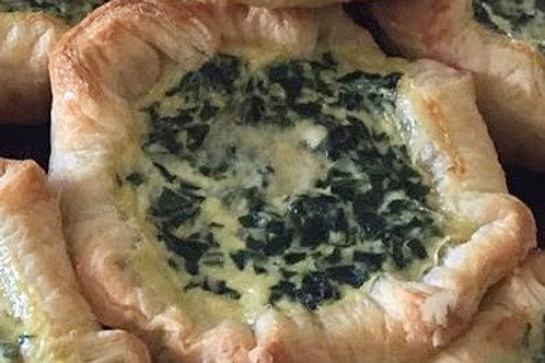 Spinach Feta Pie by Pie Lady