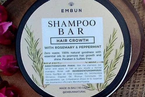 Shampoo Bar, Hair Growth by Embun