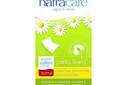 Cotton Panty Liners Normal by Natracare 18Pack