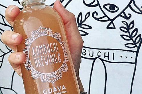 Guava Kombucha by Kombuchi Brewing Co. 250ml
