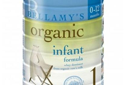 Baby Milk Formula by Bellamy'S 900g