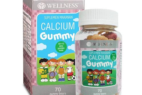 Calcium Gummy by Wellness 70Caps