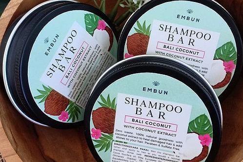 Shampoo Bar, Bali Coconut by Embun