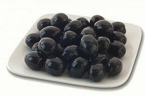 Whole Black Olives in Brine 300ml