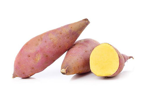 Organic Local Yellow Sweet Potato 250g