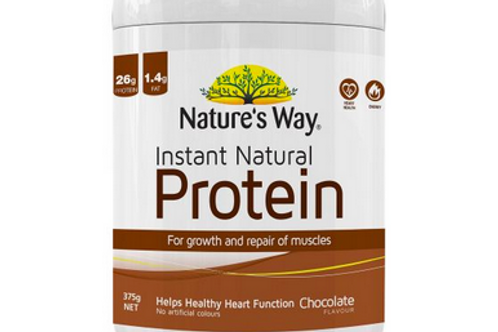 Instant Natural Protein Chocolate by Nature's Way 375g