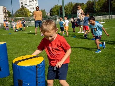 Le rugby pour les enfants
