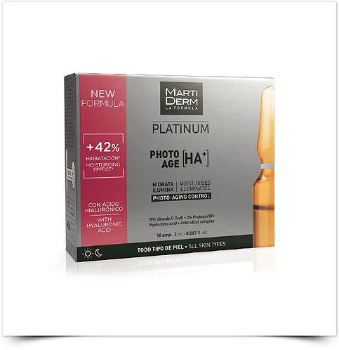 Martiderm Platinum Photo-Age HA+ Ampolas x10