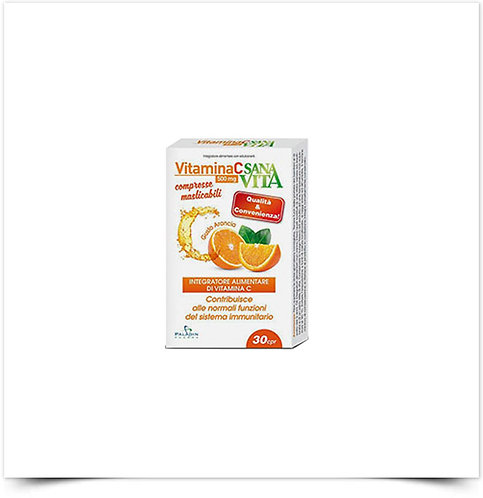 Sanavita Vitamina C Comprimidos Mastigáveis
