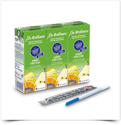 Bi-Oral Suero Frutas | 3 x 200ml
