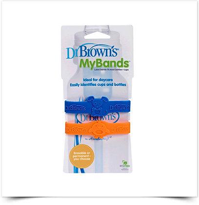 Dr. Brown's Bandas de Identificação de Biberons