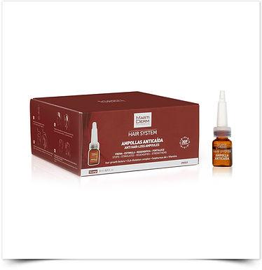 Martiderm Hair System Ampolas Antiqueda