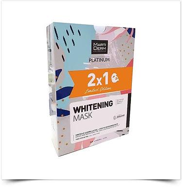 Martiderm Platinum Whitening Mask Duo Edição Limitada