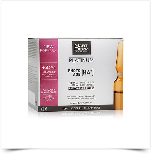 Martiderm Platinum Photo-Age HA+ Ampolas x30