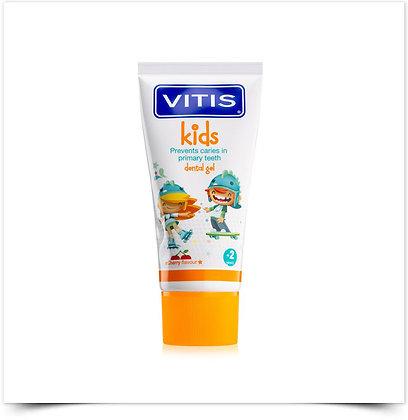 Vitis Kids Gel Dentífrico Cereja