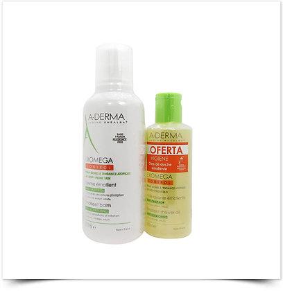 A-Derma Exomega Control Creme Emoliente c/ Oferta Exomega Óleo Duche