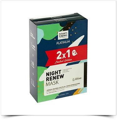 Martiderm Platinum Night Renew Mask Duo Edição Limitada