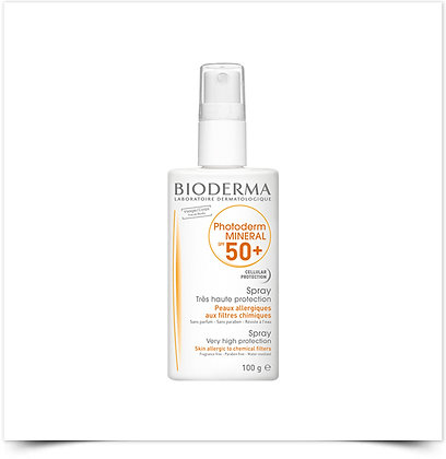 Bioderma Photoderm Mineral Spray SPF50+