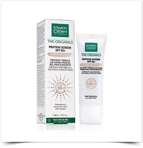 Martiderm Proteos Screen Color Fluid Cream SPF50+