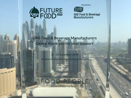 Recognised for our contribution to food manufacturing