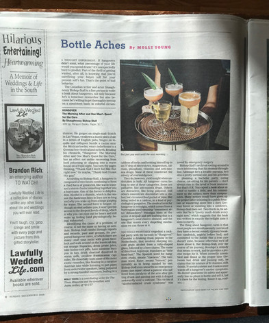 My promotion in the New York Times
