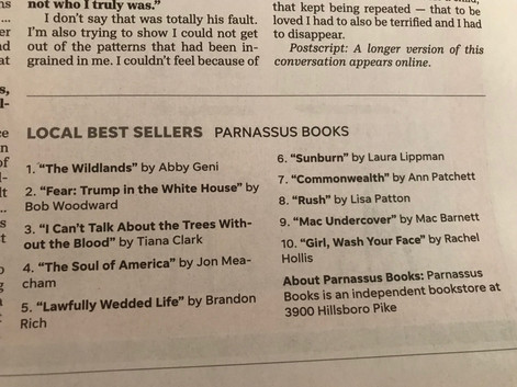 My first best sellers list