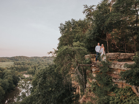 ASHLEY + DEREK A CLIFF SIDE ADVENTURE ELOPEMENT