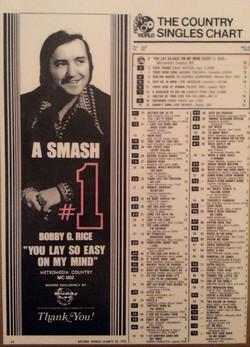 Bobby G #1 Chart_edited