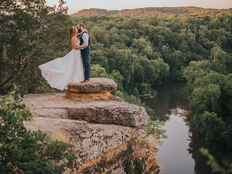 ALEX + RAVEN NARROWS OF THE HARPETH ELOPEMENT