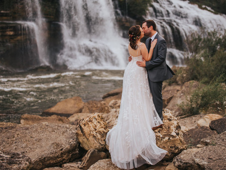 JAMIE + LANCE WATERFALL ELOPEMENT