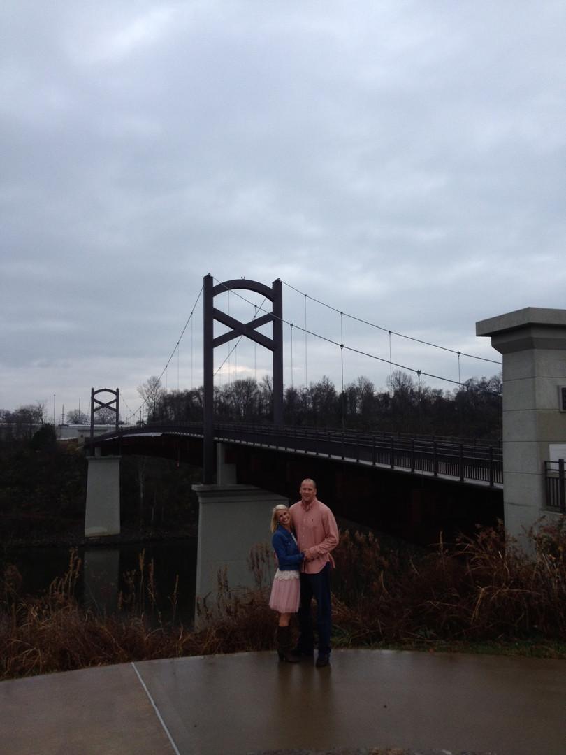Cumerland River Pededstrian Bridge by Opryland