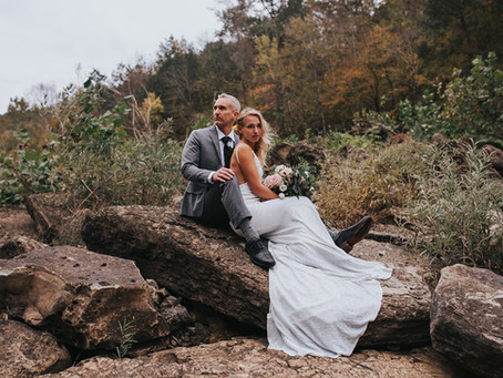 KATERYNA + JON WATERFALL ELOPEMENT