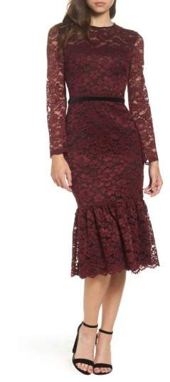 Maggy London Lace Midi Dress Wonderfullyamazingfashion Expert