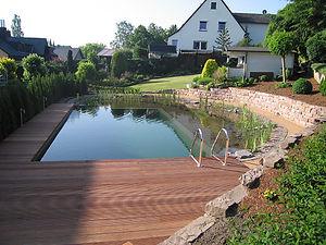 schwimmteichanlage