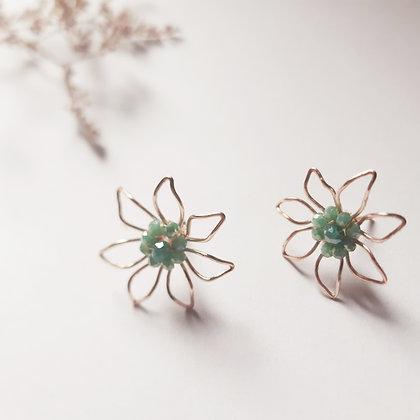 Topos Flor con cristales ANY GRANADOS