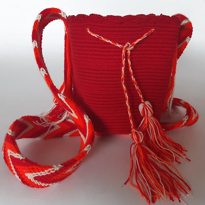 Mochila Wayuu mini Unicolor
