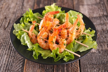 Recipe - Chilli King Prawn Skewer