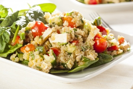 Recipe - Quinoa & Feta Salad