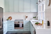 Classic Contemporary Green Kitchen.jpg