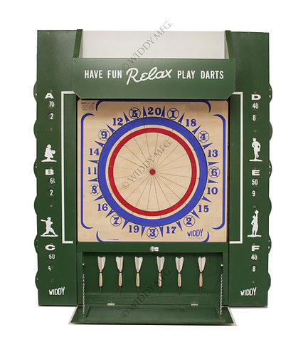 Widdy Tavern/Man Cave Package Wood Dart Board