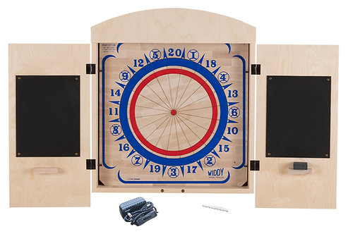 Widdy Cabinet Package w/Wood Dart Board