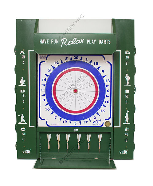 Widdy Tavern/Man Cave Package Paper Dart Board