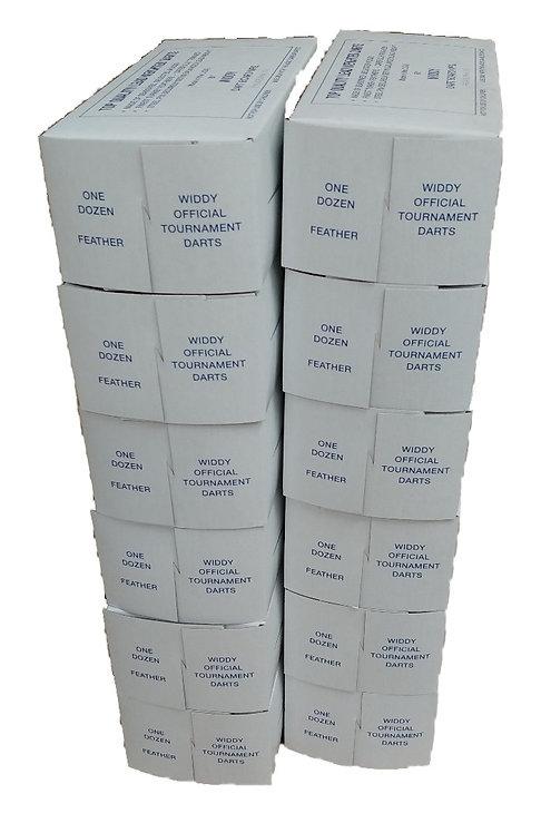 1 Gross No.2 Official Tournament Darts (12 Boxes = 144 Darts)