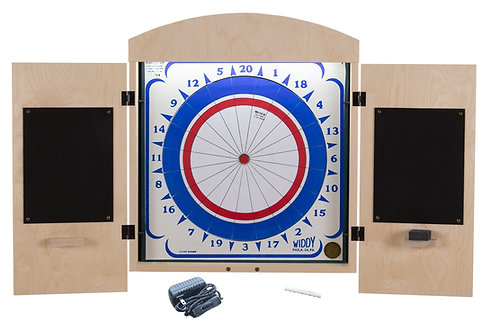 Widdy Cabinet Package w/Paper Dart Board