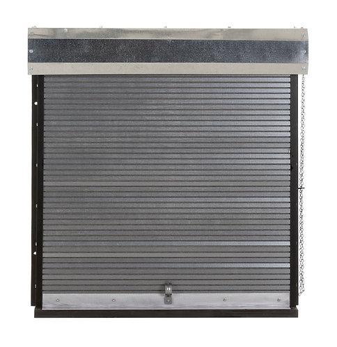 Widdy Dart Board Roll-up Garage Door Cabinet