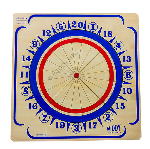 Widdy Official Tournament Wood Dart Board