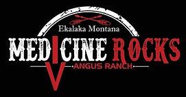 Medicine Rocks Angus Ranch Logo