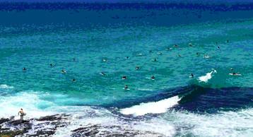 'Surfers' 140cm x 80cm $1260