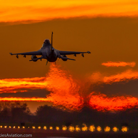 2021 RNLAF sunset flying